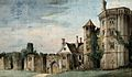 Berkeley castle. Watercolour attributed to Stephen Jenner, c Wellcome V0018788.jpg