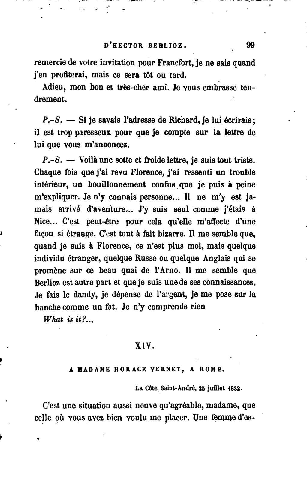 Pageberlioz Correspondance Inédite 1879 2e éd Bernard