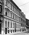 Berzenczey (Ferenc) utca páratlan oldala a Ferenc tér felől a Mester utca felé nézve. Fortepan 17376.jpg