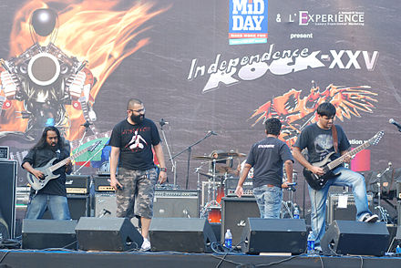 Bhayanak Maut performing at the 2010 Independence Rock XXV Bhayanak-Maut.jpg