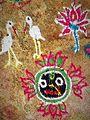 Bhubaneshwar 02a - Jagannath decoration (30477082025).jpg
