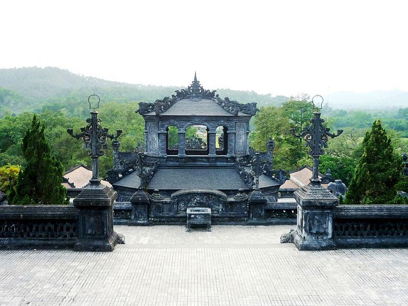 Bi đình nhìn từ cung Thiên Định