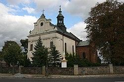 Bieżuń, kościół parafialny p.w. Św. Trójcy 02; Kot.JPG