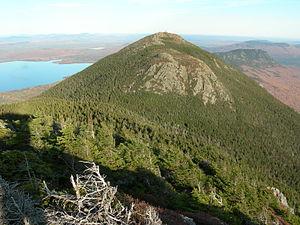 Mount Bigelow (Maine) - Image: Bigelow Avery Peak Maine