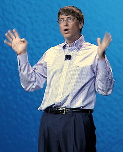 Bill Gates at Consumer Electronics Show, January 4, 2006