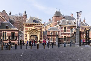 States General of the Netherlands - The Binnenhof, seat of the Staten-Generaal