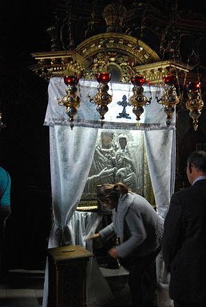 Bistrița Monastery - The miraculous icon
