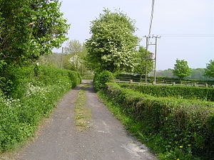 Henfield, Gloucestershire - Bitterwell Close - a former railway siding