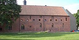 Bagsiden af paladset 2005.