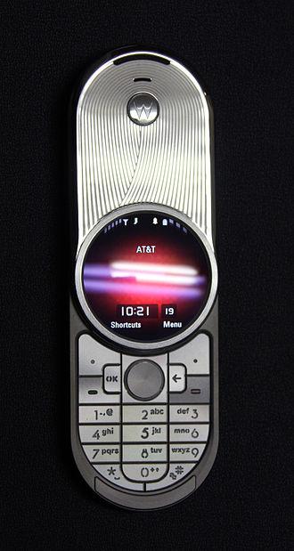 Motorola Aura - Image: Bl 4h jengle 2 2009 01 19 IMG 0204 (3210698686)