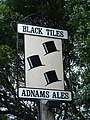 Black Tiles Sign - geograph.org.uk - 324909.jpg