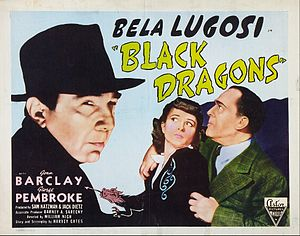 Black Dragons - Promotional lobby card for Black Dragons