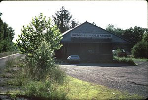 Blairstown (DL&W station) - The station house, which is now privately owned