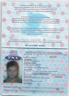 Application For Second Passport