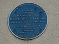 Blue plaque - Joseph Priestley - New Meeting Street Birmingham - Andy Mabbett.png