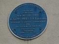 Blue plaque - Joseph Priestley - New Meeting Street Birmingham - Andy Mabbett.png