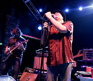 Jam band - Blues Traveler performing in 2008