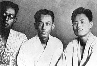 Burma Independence Army - Bo Let Ya, Set Kya and Aung San in Japan