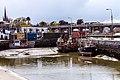 Boats In Balbriggan Harbour At Low Tide - panoramio.jpg