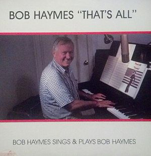 Bob Haymes - Album cover photo by Eaddy Mays 1984