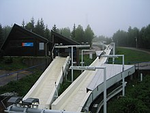 Altenberg bobsleigh, luge, and skeleton track - Wikipedia