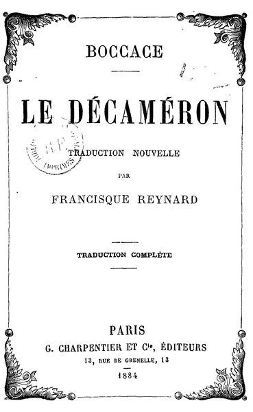File:Boccace - Décaméron.djvu