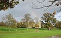 Bodiam Castle after rain - geograph.org.uk - 1584105.jpg
