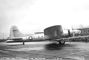 Boeing C-108 Flying Fortress - Boeing XC-108.