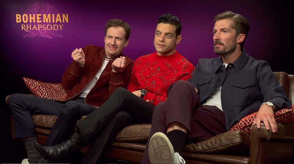 Bohemian Rhapsody cast on MTV Movies