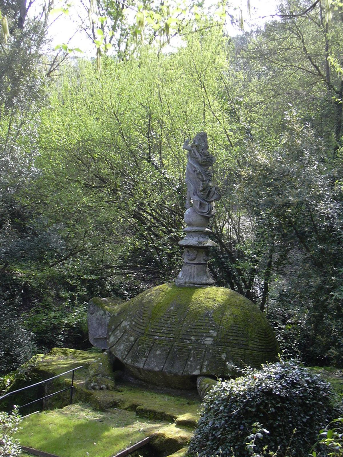 Sacro bosco wikipedia for Jardines de bomarzo