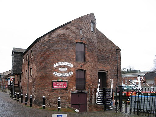 Creative Commons image of The Bonded Warehouse in Stourbridge