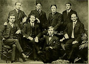 University of Maryland School of Dentistry - Faculty members of the dental department in 1904