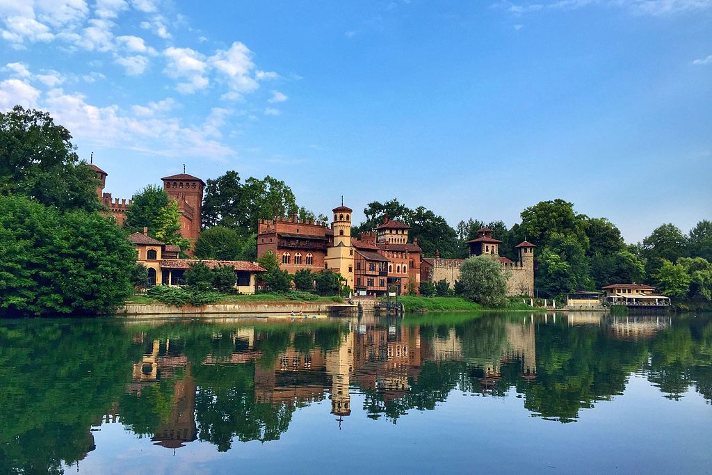 Borgo Medievale à Turin sur les rives du Pô - Photo de Xiao Jing