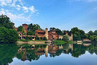 Parco del Valentino - Image: Borgo Medievale 02