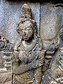 Borobudur - Divyavadana - 080 N, The Ministers deceive King Sikhandi (detail 3) (11705938935).jpg