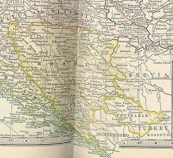 Bosnia-Herzegovina and Sanjak of Novibazar