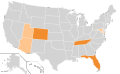 Boston Tea Party Ballot Access Locator Map, 2008 (United States of America).png