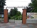 Botanická zahrada Tábor - vchod