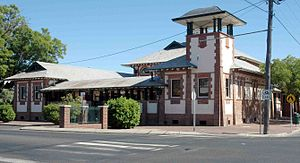Bourke, New South Wales - Court house
