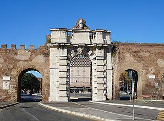 Porta San Giovanni (Rome) building in Rome, Italy
