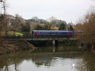 Wessex Main Line - Image: Bradford on Avon railway bridge