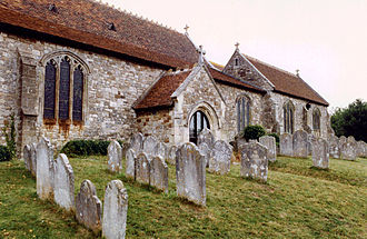 Grade I listed buildings on the Isle of Wight - Image: Brading Church Graveyard, Isle of Wight