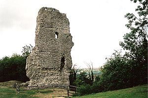Rape (county subdivision) - Image: Bramber castle