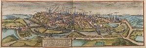 Poitiers - Poitiers in the 16th century