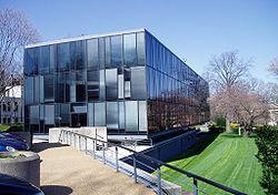 A sede da Embaixada do Brasil em Washington.