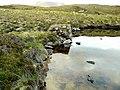 Breached dam Loch nan Claidhmhnean - geograph.org.uk - 1338782.jpg