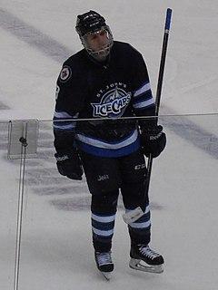 Brenden Kichton Canadian ice hockey defenceman