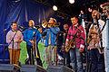 Brest - Fête de la musique 2014 - Big Band de Jazz - 009.jpg