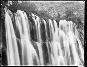 Havasu Falls - Havasu Falls prior to 1910 (aka Bridal Veil Falls)
