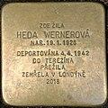 Brno Gedenkstein Heda Wernerová.jpg